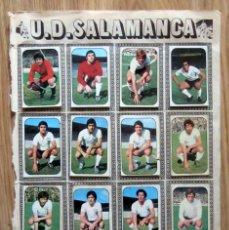 Cromos de Fútbol: ALBUM EDICIONES ESTE LIGA 1976/77 76-77 PAGINA U.D. SALAMANCA VALENCIA C.F.. Lote 161539126