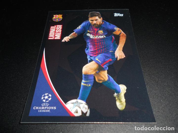 Sticker 24 Champions League 17//18 FC Barcelona Lionel Messi