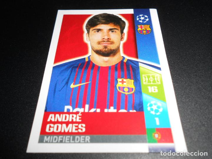 Cromos de Fútbol: 34 ANDRE GOMES F.C. BARCELONA CROMOS STICKERS CHAMPIONS LEAGUE TOPPS 17 18 2017 2018 - Foto 1 - 182644638