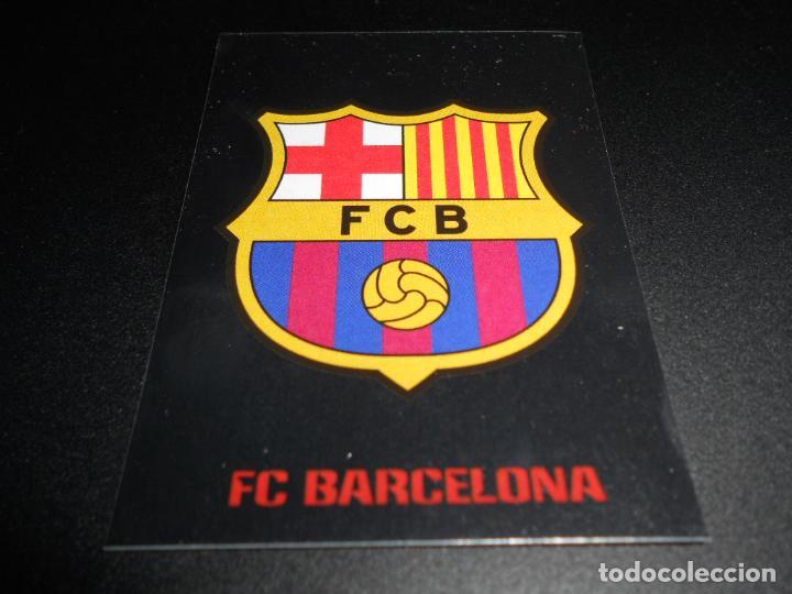 22 ESCUDO LOGO F.C. BARCELONA CROMOS STICKERS CHAMPIONS LEAGUE TOPPS 17 18 2017 2018 (Coleccionismo Deportivo - Álbumes y Cromos de Deportes - Cromos de Fútbol)