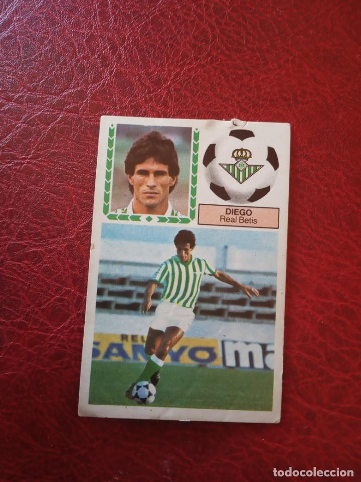 DIEGO REAL BETIS ED ESTE 83 84 CROMO FUTBOL LIGA 1983 1984 - SIN PEGAR - 391 (Coleccionismo Deportivo - Álbumes y Cromos de Deportes - Cromos de Fútbol)