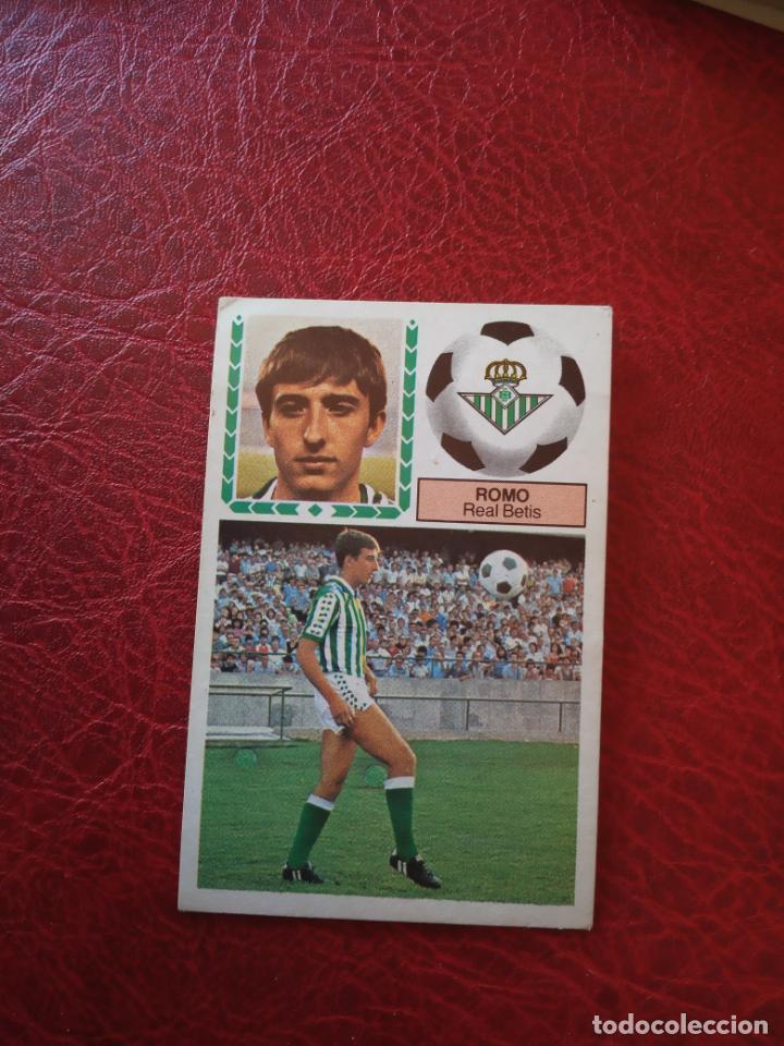 ROMO REAL BETIS ED ESTE 83 84 CROMO FUTBOL LIGA 1983 1984 - SIN PEGAR - 392 (Coleccionismo Deportivo - Álbumes y Cromos de Deportes - Cromos de Fútbol)