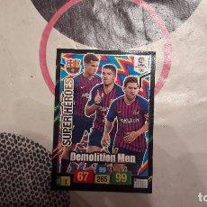 Cromos de Fútbol: 436 SUPER HEROES DEMOLITION MEN ADRENALYN 18/19. Lote 161730070
