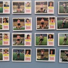 Cromos de Fútbol: LOTE 16 CROMOS FUTBOL LIGA ATHLETIC BILBAO 73 74 1973 1974 EDICS FHER DESPEGADOS MUY BUENA CONSERVAC. Lote 161785830
