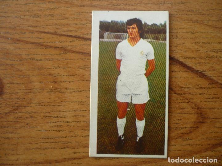 CROMO LIGA ESTE 75 76 CAMACHO (REAL MADRID) - NUNCA PEGADO - 1975 1976 (Coleccionismo Deportivo - Álbumes y Cromos de Deportes - Cromos de Fútbol)