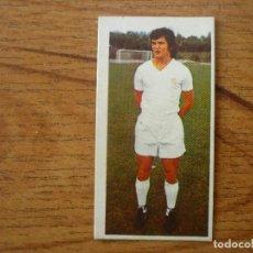 Cromos de Fútbol: CROMO LIGA ESTE 75 76 CAMACHO (REAL MADRID) - NUNCA PEGADO - 1975 1976. Lote 161829098
