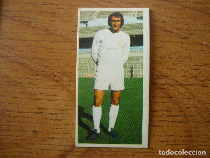 CROMO LIGA ESTE 75 76 PIRRI (REAL MADRID) - NUNCA PEGADO - 1975 1976 (Coleccionismo Deportivo - Álbumes y Cromos de Deportes - Cromos de Fútbol)