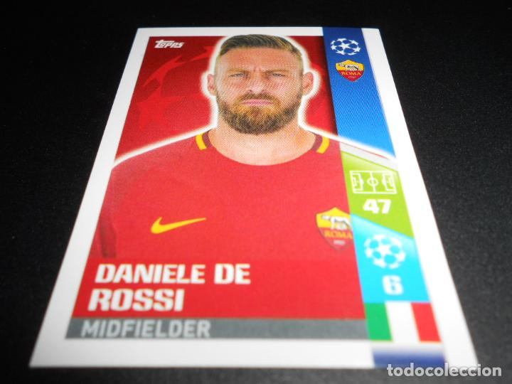 Champions League 17//18 Sticker 224 AS Roma Daniele De Rossi