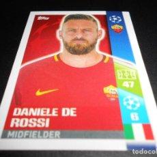 Cromos de Fútbol: 224 DANIELE DE ROSSI ROMA CROMOS STICKERS CHAMPIONS LEAGUE TOPPS 17 18 2017 2018. Lote 161925018
