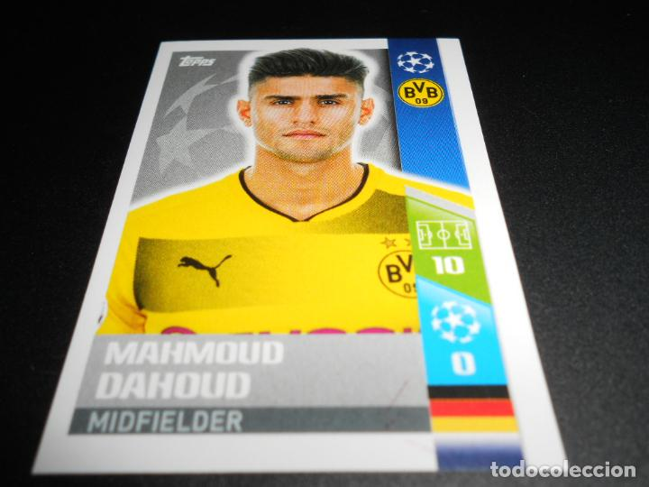 Borussia Dortmund Mahmoud Dahoud Champions League 17//18 Sticker 108