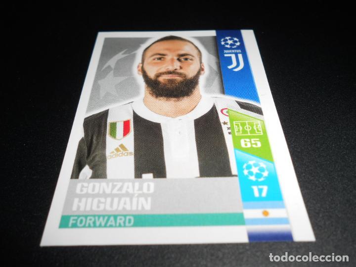 Ligue des Champions 17//18 Sticker 210-Gonzalo Higuaín-Juventus