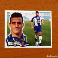 Cromos de Fútbol: R.C.D. ESPAÑOL, ESPANYOL - SOLDEVILLA - EDICIONES ESTE 2000-2001, 00-01 - NUNCA PEGADO. Lote 162020088