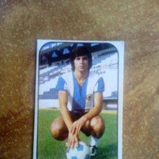 Cromos de Fútbol: CROMO ARACIL (HÉRCULES) 76-77 ESTE. ERROR TRASERA JOSE LUIS. NUNCA PEGADO. Lote 162100710