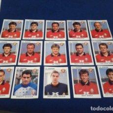 Cromos de Fútbol: LOTE 15 CROMOS DIFERENTES PANINI LIGA 93 - 94 ( C.A. OSASUNA ) NUEVOS NUNCA PEGADOS. Lote 162117642