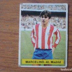 Cromos de Fútbol: CROMO FUTBOL FINI 75 76 MARCELINO (ATLETICO MADRID) - NUNCA PEGADO - LIGA 1975 1976. Lote 162306186