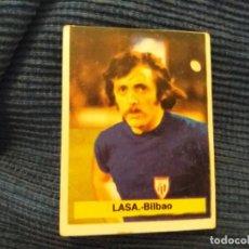 Cromos de Fútbol: LIGA 1975-76 75-76 FINI. DEP. LEGAL MA. BILBAO LASA ESCUDO VISIBLE NUNCA PEGADO. Lote 59617731