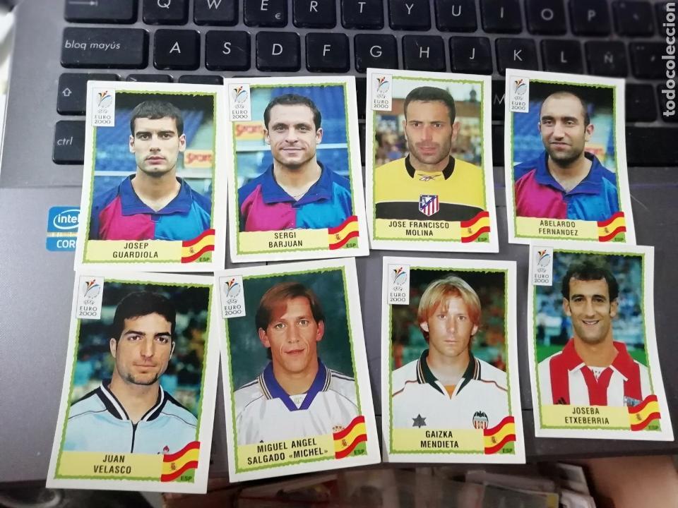 8 CROMOS EURO 2000 PANINI (Coleccionismo Deportivo - Álbumes y Cromos de Deportes - Cromos de Fútbol)