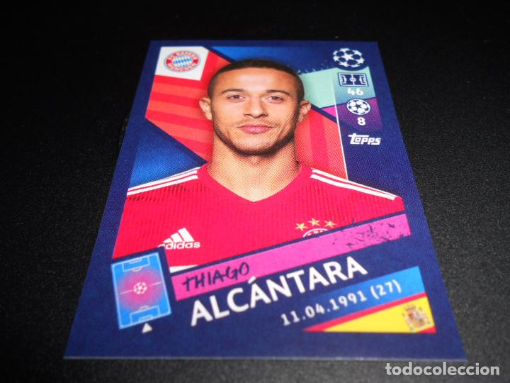 Thiago Alcantara Topps Champions League 18//19 Sticker 89