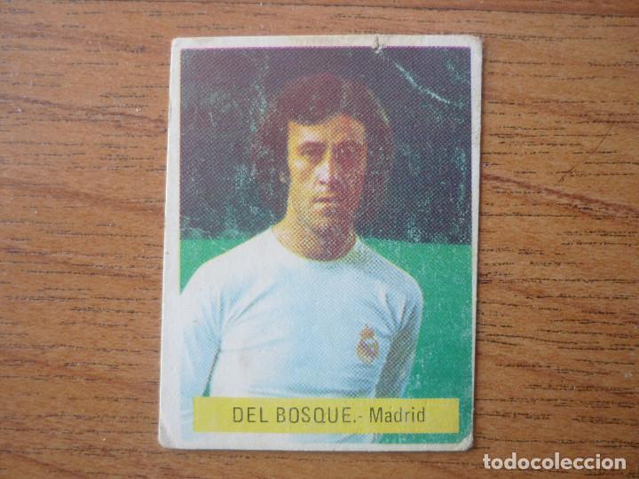 CROMO FUTBOL FINI 75 76 VICENTE DEL BOSQUE (REAL MADRID) - NUNCA PEGADO - LIGA 1975 1976 (Coleccionismo Deportivo - Álbumes y Cromos de Deportes - Cromos de Fútbol)