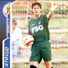 Cromos de Fútbol: 165 CALATAYUD - GETAFE C.F. - MEGACRACKS MEGA CRACKS 2005 2006 PANINI 05 06. Lote 162494982