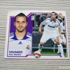 Cromos de Fútbol: CROMO DE FUTBOL BBVA SOLDADO REAL MADRID ED. ESTE 07-08. Lote 162784714