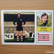 Cromos de Fútbol: MARRO ATHLETIC CLUB DE BILBAO ED FHER 1973 1974 LIGA 73 74 CROMO FUTBOL SIN PEGAR NUNCA PEGADO. Lote 162817266
