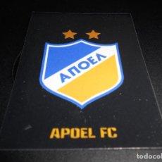 Cromos de Fútbol: 517 ESCUDO LOGO APOEL FC CROMOS STICKERS CHAMPIONS LEAGUE TOPPS 17 18 2017 2018. Lote 162911690