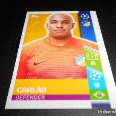 Cromos de Fútbol: 522 CARLAO APOEL FC CROMOS STICKERS CHAMPIONS LEAGUE TOPPS 17 18 2017 2018. Lote 162922794