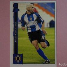 Cromos de Fútbol: CROMO CARD DE FUTBOL CAMARA DEL HERCULES C.F. Nº 1017 LIGA MUNDICROMO 2005-2006/05-06. Lote 162982170