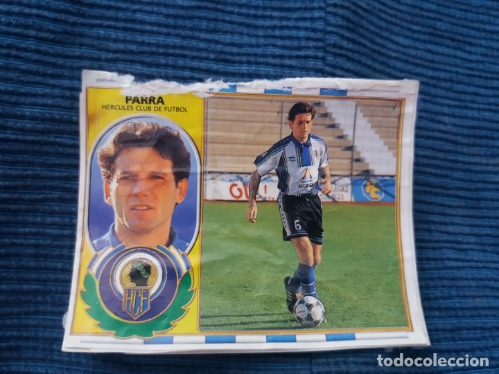 96/97 ESTE. COLOCA HÉRCULES PARRA (Coleccionismo Deportivo - Álbumes y Cromos de Deportes - Cromos de Fútbol)