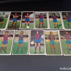 Cromos de Fútbol: ESTE 77-78 * LOTE DE 11 CROMOS DEL BARCELONA (RECUPERADOS). Lote 163396730