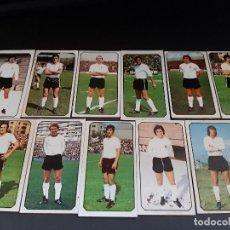 Cromos de Fútbol: ESTE 77-78 * LOTE DE 11 CROMOS DEL BURGOS (RECUPERADOS). Lote 163398978