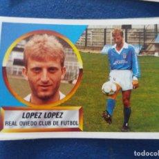 Cromos de Fútbol: 88/89 ESTE. LOPEZ LOPEZ COLOCA DIFICIL REAL OVIEDO. LEER. Lote 54399215