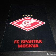 Cromos de Fútbol: 269 ESCUDO LOGO FC SPARTAK MOSKVA MOSCU CROMOS STICKERS CHAMPIONS LEAGUE TOPPS 17 18 2017 2018. Lote 163676918