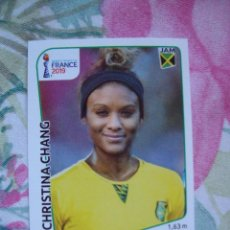 Cromos de Fútbol: CHRISTINA CHANG JAMAICA Nº 243 WORLD CUP FRANCE 2019 FIFA PANINI. Lote 163679450