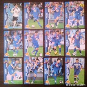 Lote 9 cromos Getafe C.F. Equipo Liga 2010 2011 10 11 Mega cracks Panini Megacracks
