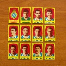 Cromos de Fútbol: R.C.D. ESPAÑOL, ESPANYOL -EQUIPO COMPLETO-AZAFRÁN POLLUELOS 1954-1955, 54-55 - NOVELDA-NUNCA PEGADOS. Lote 164575386