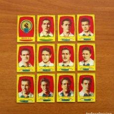 Cromos de Fútbol: HÉRCULES - EQUIPO COMPLETO - AZAFRÁN POLLUELOS 1954-1955, 54-55 - NOVELDA - NUNCA PEGADOS. Lote 164575874