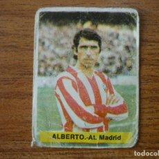 Cromos de Fútbol: CROMO FUTBOL FINI 75 76 ALBERTO (ATLETICO MADRID) - NUNCA PEGADO - LIGA 1975 1976 . Lote 164594954