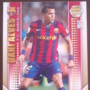 Dani Alves. F.C. Barcelona Mega Cracks 2009 2010 Megacracks 09 10 Serie oro 57
