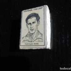Cromos de Fútbol: LIGA 1936 1937 GUERRA CIVIL - LUIS BONA ( DESCONOZCO EL EQUIPO) - CAJA DE CERILLAS. Lote 164617310