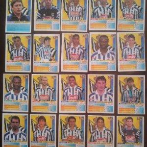 Lote de 20 cromos Real Sociedad. Las fichas de la liga 98 99 sport. Mundicromo 1998 1999