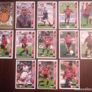 Lote de 13 cromos Real Mallorca. Las fichas de la liga 98 99 sport. Mundicromo 1998 1999