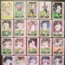 Cromos de Fútbol: LOTE DE 21 CROMOS REAL MADRID. LAS FICHAS DE LA LIGA 98 99 SPORT. MUNDICROMO 1998 1999. Lote 164622674