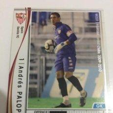 Cromos de Fútbol: CROMO CARD WCCF LIGA 2009-10 PANINI DE JAPÓN SEVILLA PALOP (TENGO MAS MIRA MIS LOTES). Lote 164747706