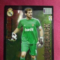Cromos de Fútbol: ADRENALYN 2010-11 10-11. SUPERCRACK. CASILLAS. REAL MADRID. Lote 257575175