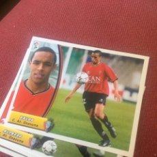 Cromos de Fútbol: ESTE 03 04 2003 2004 SIN PEGAR OSASUNA VALDO. Lote 164797865