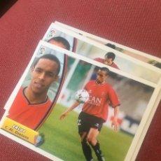 Cromos de Fútbol: ESTE 03 04 2003 2004 SIN PEGAR OSASUNA VALDO. Lote 164798136