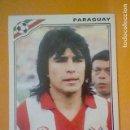 Cromos de Fútbol: HICKS PARAGUAY MEXICO 86 PANINI CROMO SIN PEGAR NUNCA Nº 161. Lote 164888206