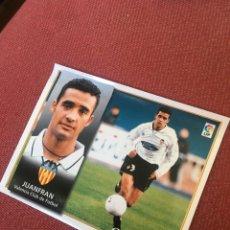 Cromos de Fútbol: ESTE 98 99 1998 1999 VALENCIA VENTANILLA JUANFRAN. Lote 164890684